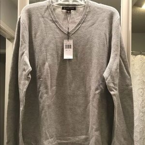 Men's XL Micheal Kors Heather Gray Sweater